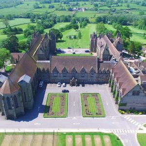 Aerial view of Denstone College Buildings
